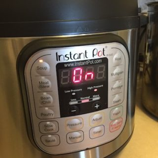 Instant Pot, I Think I Love You